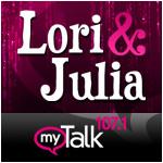Lori and Julia on myTalk 107.1 - Minneapolis/St. Paul